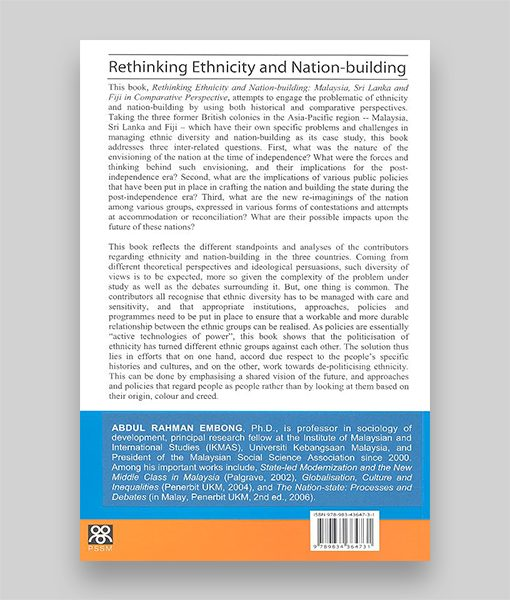 Rethinking Ethnicity & Nation-Building, Malaysia, Sri Lanka & Fiji in Comparative Perspective