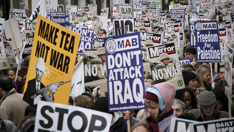 US-led War of Aggression Against Iraq